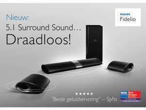 Philips advertentie opmaak