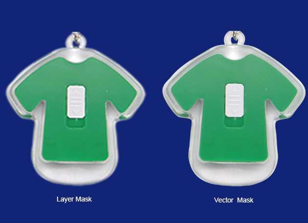 laag en vector masker vergroot