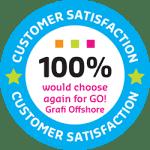 customer satisfaction stamp