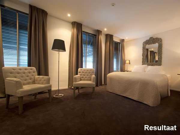 Montage beelden hotelkamer