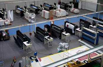 DTP werk voor stempelfabrik