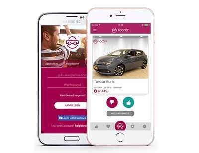 Tooter App voor iOS en Android