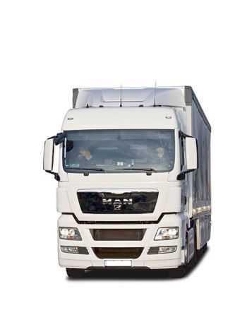 vrachtwagen bewerkt