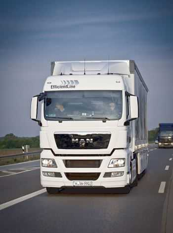 voorbeeld vrijstaand maken vrachtwagen