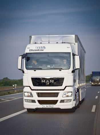 vrachtwagen onbewerkt