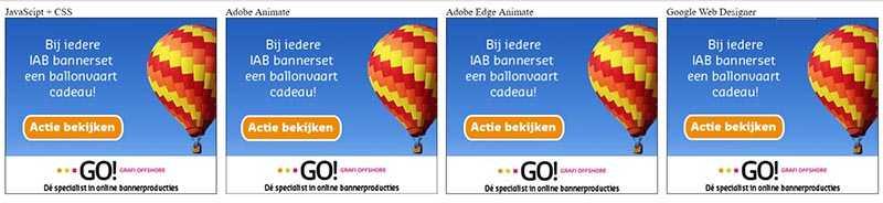 online banners demopagina