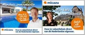 Micazu banners voor Klein + Klein