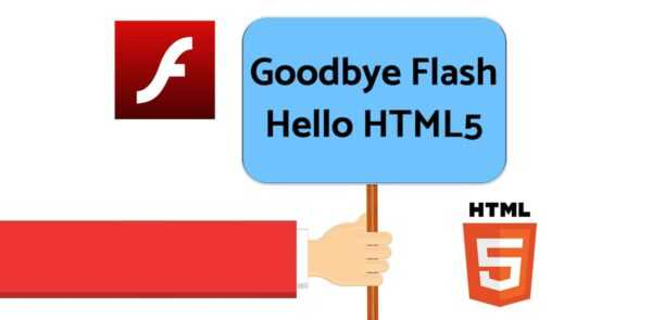 Vaarwel Flash hallo HTML5