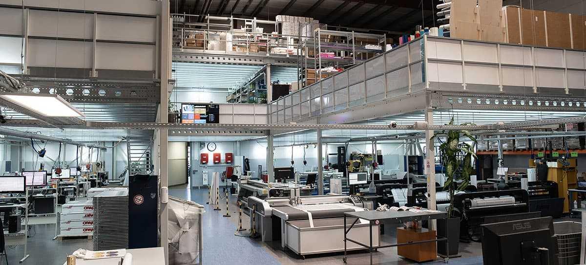 Stempel-Fabrik production
