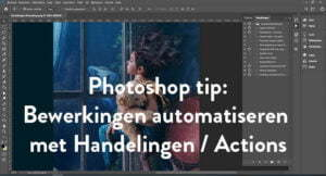 Handelingen in Photoshop