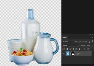 snelle handelingen photoshop uitsnijden screenshot